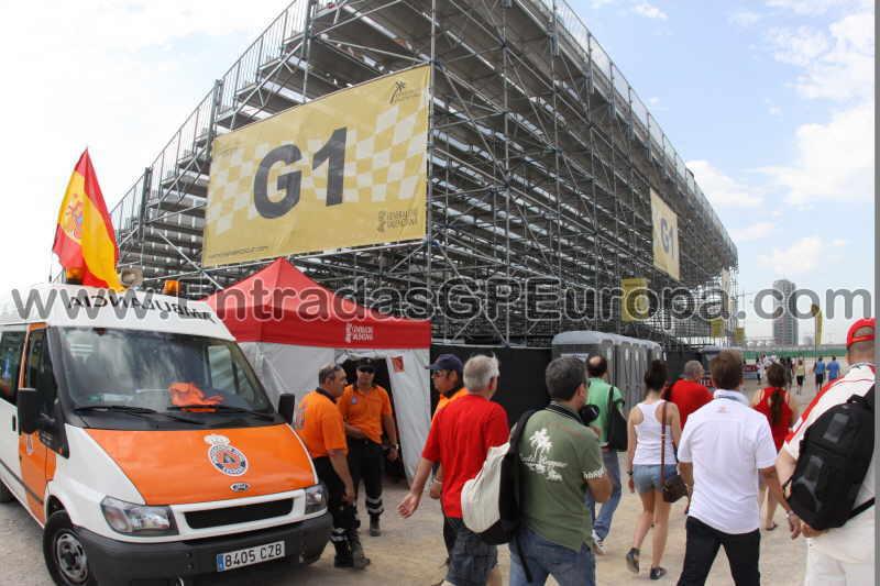 entrada gp valencia:
